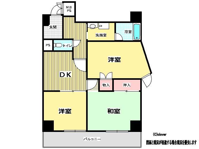「ライオンズマンション上本町第2」 千日前線 鶴橋 徒歩7分
